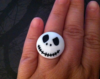 Jack Skellington Ring - The Nightmare Before Christmas Ring