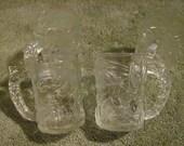 SALE-Batman Glass Cups with handles