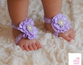 Barefoot Sandals Pattern, Baby Sewing Pattern, Baby Shoe Pattern, Toe Candy, Persnickety Pattern, Wrist Corsage Pattern, sizes 0-3m to 5