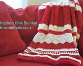 The Kitchen Sink Blanket Knitting Pattern