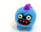 Gi the wee monster- Needle felted