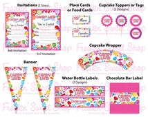 CandyLand Ultimate Party Pack PDF files