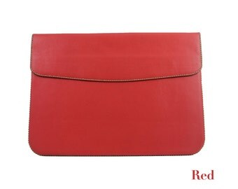 "Handmade Genuine Leather Sleeve for MacBook Pro 15"" Retina Display (Full Flap)"