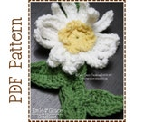 Flower Headband Crochet Pattern - DAISY - 604