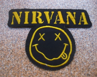 NIRVANA Music Patch Badge