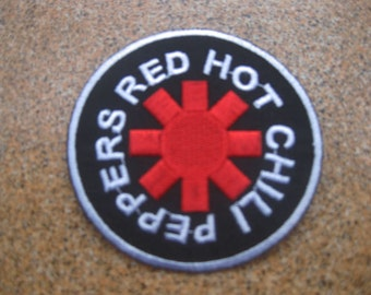 red hot chili peppers Music Patch Badge