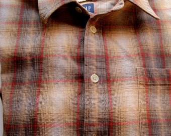 Vintage Gap Heavy Cotton Shirt XL