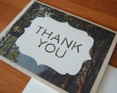 Woodsy Thank You Card