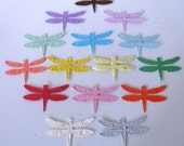 25 Seed Paper Dragonflies