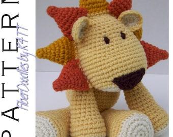 INSTANT DOWNLOAD : KISS Series - Lion Crochet Pattern