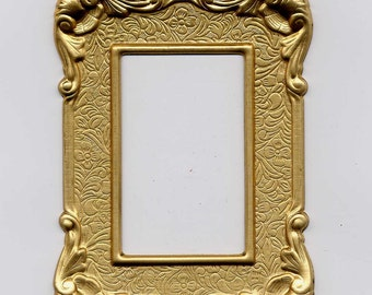 Frame Classic Style Brass Metal Stamping