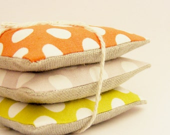 Custom Made Cotton and Linen Lavender Sachets
