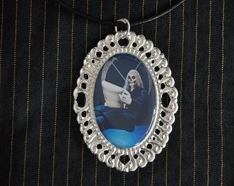 Horrible Histories Stupid Deaths Simon Farnaby Photo Necklace