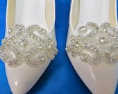 Rhinestone Shoe Clip, Bridal Shoes, Shoe Accessory, Bridal Shoe Clips, Shoe Clips