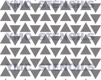 Triangles Stencil - 8x8