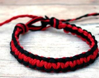how to make thick hemp bracelets