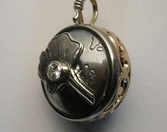 Wedding Ring Vessel Pendant Reliquary