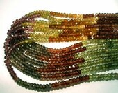 Tunduru Sapphire Beads AAA Grade Hand Cut Micro Faceted 3.5mm Roundell Half 7inch strand rainbow rare Stringing Necklace Beadwork Lovely