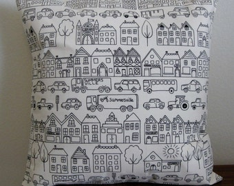 Summersville Pillow Cover - 16 inches square