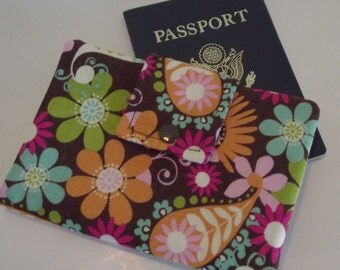 Dollbirdies Small Passport Wallet Cover with I.D. Window