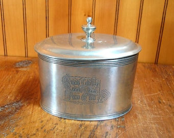 Vintage Pewter Box