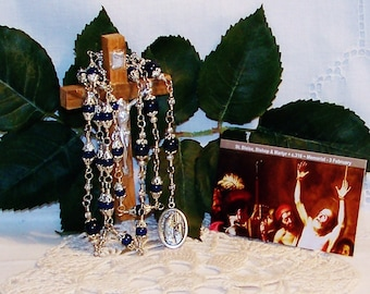 Unbreakable Traditional Catholic Chaplet of St. Blaise - Patron of Construction Workers, Animals and Against Coughs and Throat Diseases