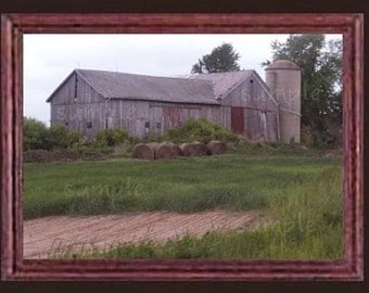 The Old Barn Miniature Dollhouse Art Picture 6156