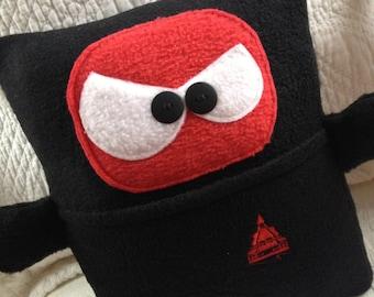Kooky Ninja pocket pillow, great for Tooth Fairy Pillow