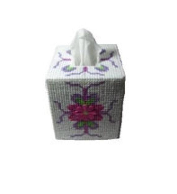 PDF FORMAT Flower Blossom Boutique Tissue Box Cover