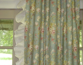 Deposit Listing for Window Treatments---Your Fabric or Mine---Optional Styles Available