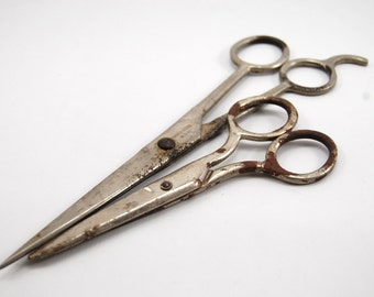 Collection of vintage scissors