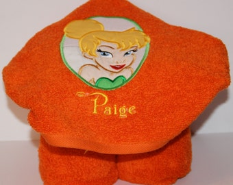 Tinkerbell Hooded Towel - Personalized