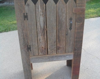 Picket Fence Cabinet