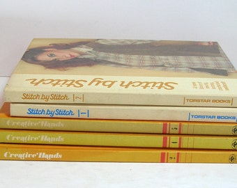 Creative Hands And Stitch By Stitch Vintage Needlework Books