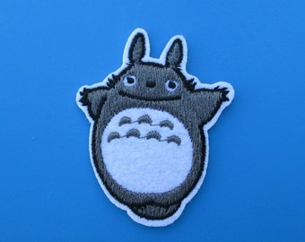 Super-CUTE Iron-on Embroidered Patch TOTORO 2.5 inch