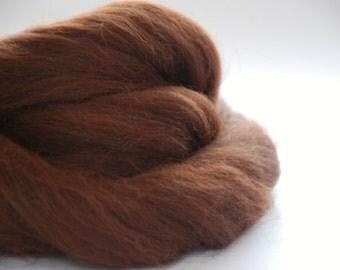 ALPACA FIBER  - chestnut brown