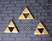 Oops sale:  Reduced price on Legend of Zelda triforce charm (Ready to Ship)