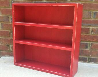 Kids Storage Shelf  sits on Dresser or desk  for Mudroom, Nursery   19'' x 19'' x 5 3/4''