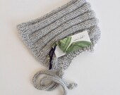 esmae's pixie hat in ice grey