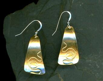 popular items for rectangular earrings on etsy