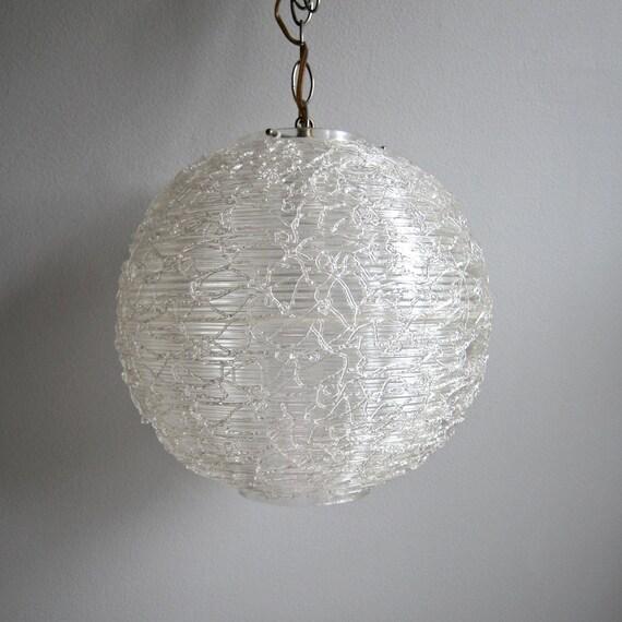 Clear Acrylic Spaghetti Swag Lamp Plastic By