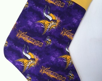 Minnesota Vikings Christmas Stocking