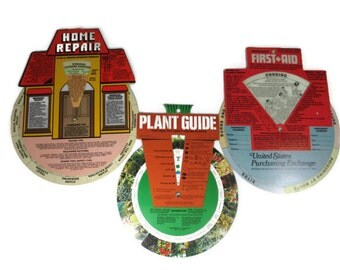 Norco Graphix Dial Guides to Plants, Home Repair and First Aid
