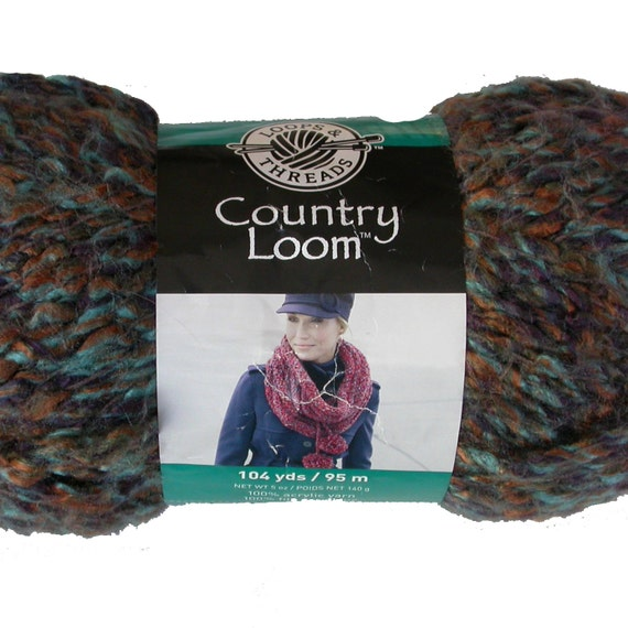 Country Loom Yarn By Loops And Threads Soft Bulky Boucle Wild