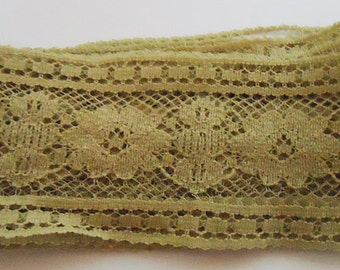 Antique Lace French Ribbon.50s
