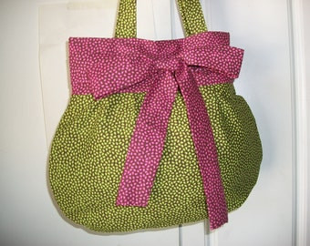 Purse Candy Pink and Lime