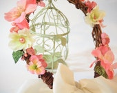 Rustic woodland fairy hair wreath for weddings, headband fascinator wreath, woodland, Victorian, pageants, props, Bohemian