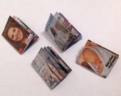 """Dolls House Miniatures -  4 x Picturial Magazines - Royal Baby """"Cambridge"""""""