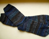 Hand Knit Men's Socks From Your Yarn - Custom Made Socks for Perfect Fit - Any Yarn is Welcome