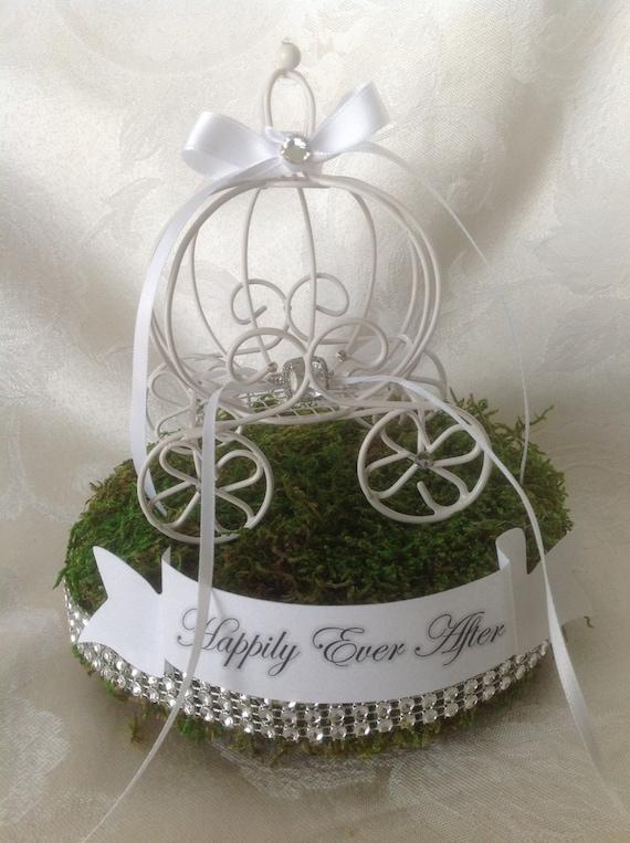 cinderella fairytale wedding ring bearer carriage - Cinderella Wedding Ring